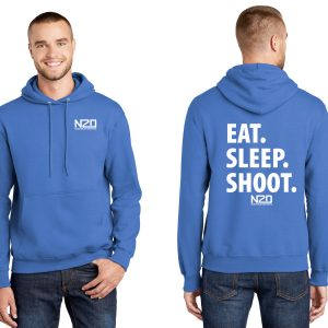 Eat sleep shoot hoodie