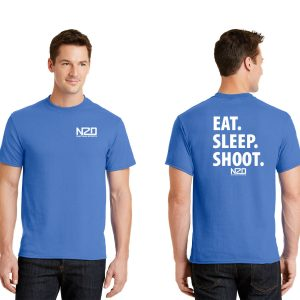 eat sleep shoot t shirt