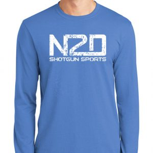 N2D distress long sleeve shirt