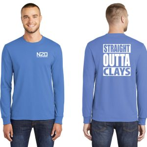 straight outta clays long sleeve shirt