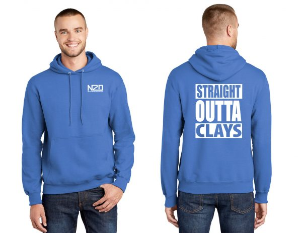 straight outta clays hoodie