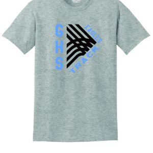 GHS Track T-Shirt (Gray) (Cotton)